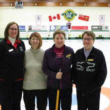 CFUW Curlers Win Tournament
